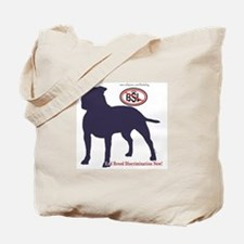 STOP BSL silhouette Tote Bag