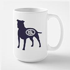 STOP BSL silhouette Mug