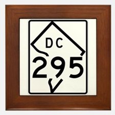 Route 295, District of Columbia Framed Tile