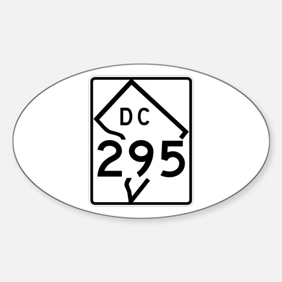 Route 295, District of Columbia Oval Decal