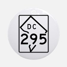 Route 295, District of Columbia Ornament (Round)