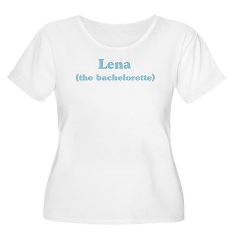 Lena the bachelorette Women's Plus Size Scoop Neck