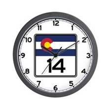 State Highway 14, Colorado Wall Clock