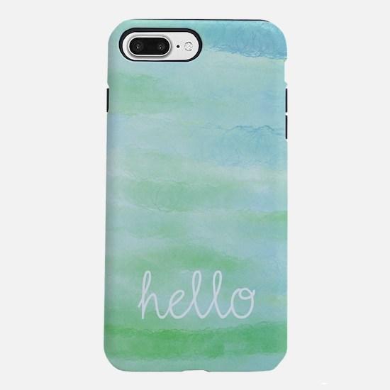 Hello iPhone 7 Plus Tough Case