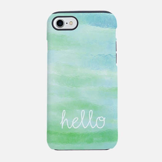 Hello iPhone 7 Tough Case