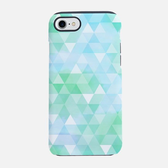 Blue Green Prism iPhone 7 Tough Case