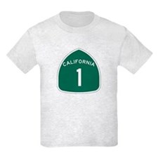 State Route 1, California T-Shirt