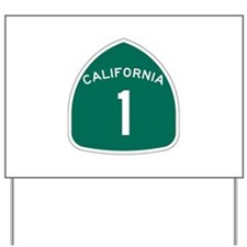 State Route 1, California Yard Sign