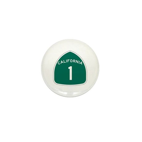 State Route 1, California Mini Button (100 pack)