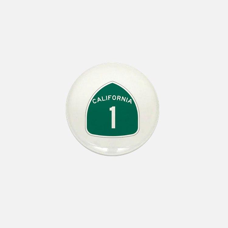 State Route 1, California Mini Button