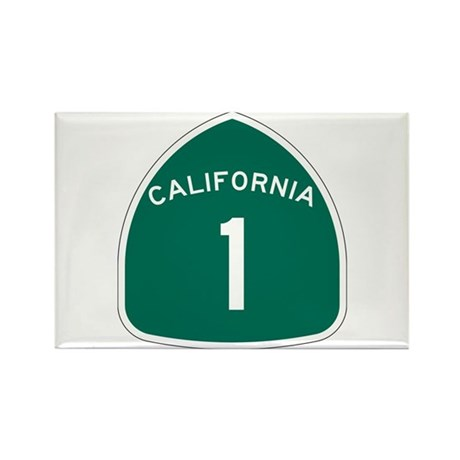 State Route 1, California Rectangle Magnet (10 pac