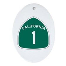 State Route 1, California Oval Ornament