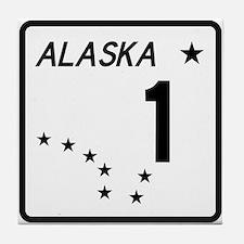 Route 1, Alaska Tile Coaster