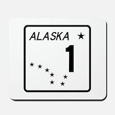 Route 1, Alaska Mousepad