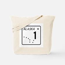 Route 1, Alaska Tote Bag