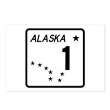 Route 1, Alaska Postcards (Package of 8)