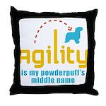 Powderpuff Throw Pillow