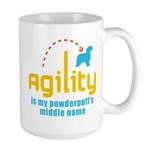 Powderpuff Large Mug