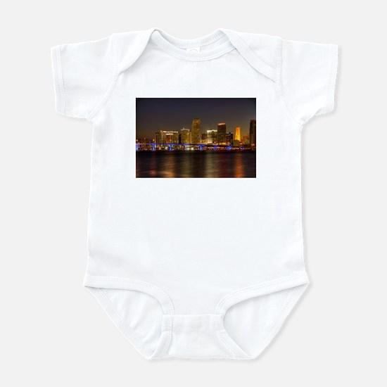 Miami at Night Infant Bodysuit