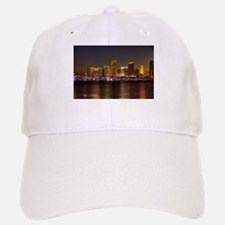 Miami at Night Baseball Baseball Cap