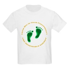 Carbon Footprint Renewable En T-Shirt