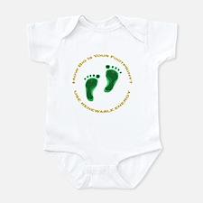 Carbon Footprint Renewable En Infant Bodysuit