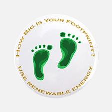 """Carbon Footprint Renewable En 3.5"""" Button"""