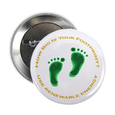 "Carbon Footprint Renewable En 2.25"" Button (10 pac"