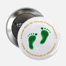 "Carbon Footprint Renewable En 2.25"" Button"