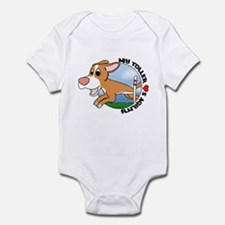 Cartoon Toller Agility Infant Bodysuit
