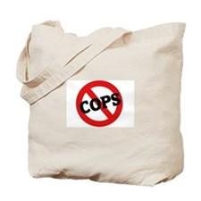Anti-Cops Tote Bag