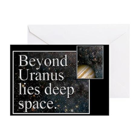 Beyond Uranus Greeting Cards (Pk of 20)