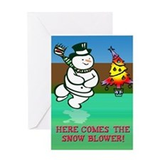 Humorous Christmas Greeting Card