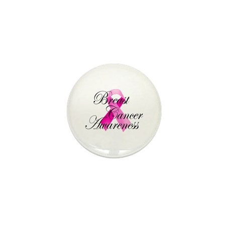 Breast Cancer Awareness 5 Mini Button (100 pack)
