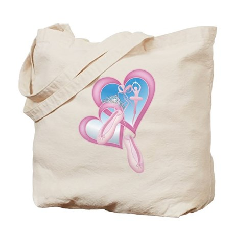 Ballerina Sweetheart Tote Bag