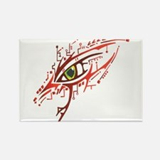 Cyber Eye Rectangle Magnet