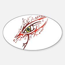 Cyber Eye Oval Decal