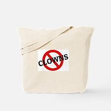 Anti-Clowns Tote Bag