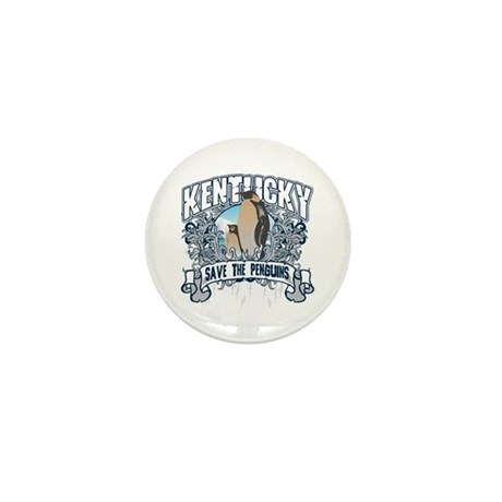 Save the Penguins Kentucky Mini Button