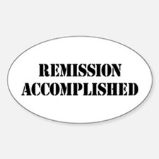 Remission Accomplished Decal