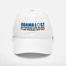 Obama Lost Baseball Baseball Cap