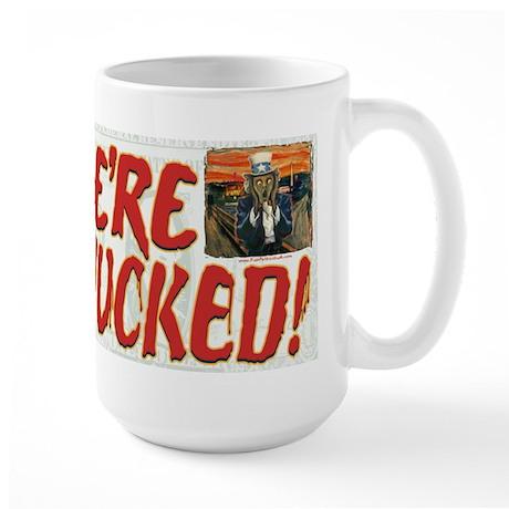 Fe're Wucked Uncle Sam Large Mug