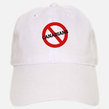 Anti-Canadians Baseball Baseball Cap