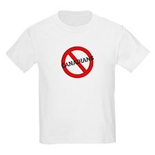Anti-Canadians Kids T-Shirt