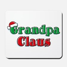Grandpa Claus Mousepad