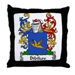 Bibikov Family Crest Throw Pillow
