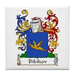 Bibikov Family Crest Tile Coaster