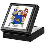 Bibikov Family Crest Keepsake Box