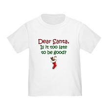 Santa Too Late T