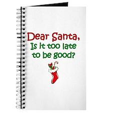 Santa Too Late Journal